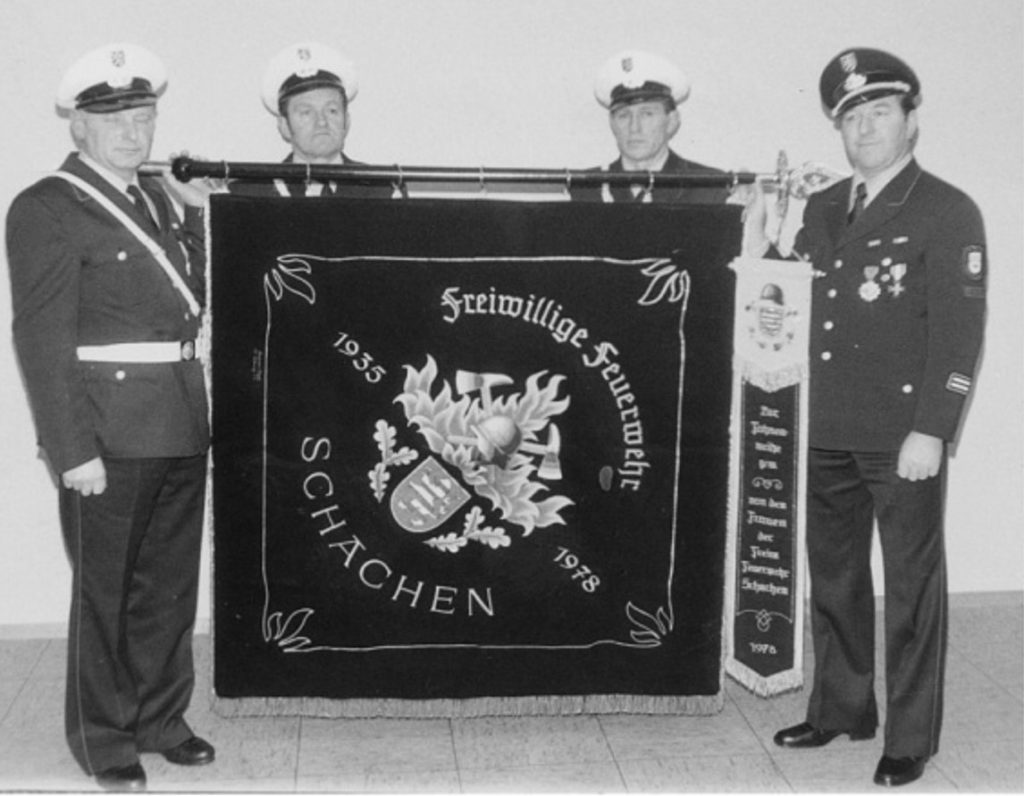 Vereinsfahne FFSchachen